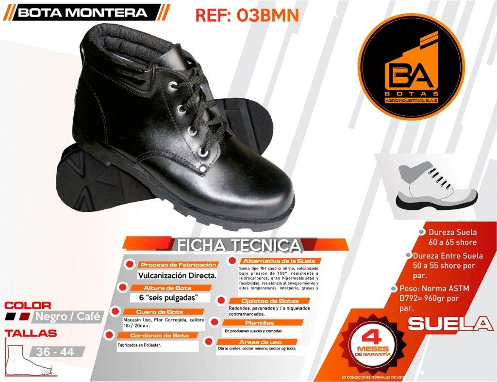 Botas calzado industrial media bota