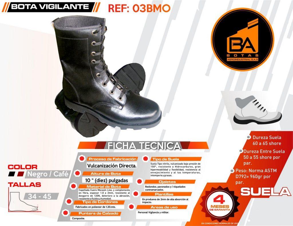 Botas calzado industrial alta